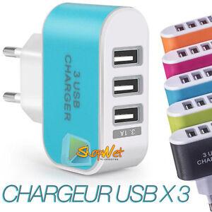 multiprise usb plug chargeur secteur pour iphone samsung. Black Bedroom Furniture Sets. Home Design Ideas