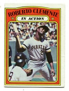 Roberto-Clemente-1972-Topps-310-In-Action-Pirates-Ex-46763