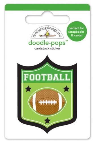 Doodlebug Design Touchdown Doodle-pops Sticker Touchdown 4767