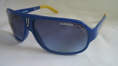 Accurato Carrera Sunglasses Carrerino 9 Xdg Blu Scuro Nuovo Con Etichetta Y5 Originale-mostra Il Titolo Originale Senza Ritorno