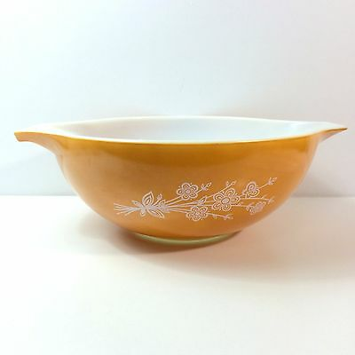 Pyrex Butterfly Gold II Cinderella Mixing Bowl No. 444 4 Quart