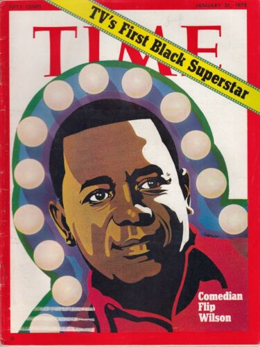 Time-Magazine-1972-January-31-Comedian-Flip-Wilson