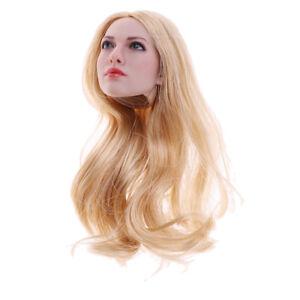 1-6-charmes-tete-de-fille-sculpture-cheveux-d-039-or-pour-12-039-039-Phicen-Kumik