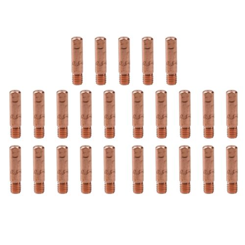 0.6 mm de soudage MIG WELDER Round contact Tips for MB15 Euro Torches 25pk