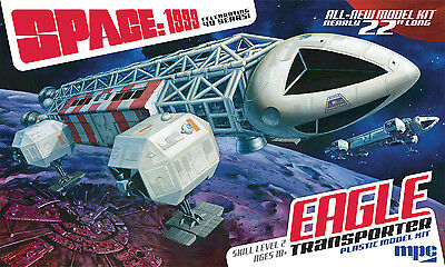"MPC Space:1999  Eagle-1 Transporter 22"" Movie Prop Edition model kit 1/48"