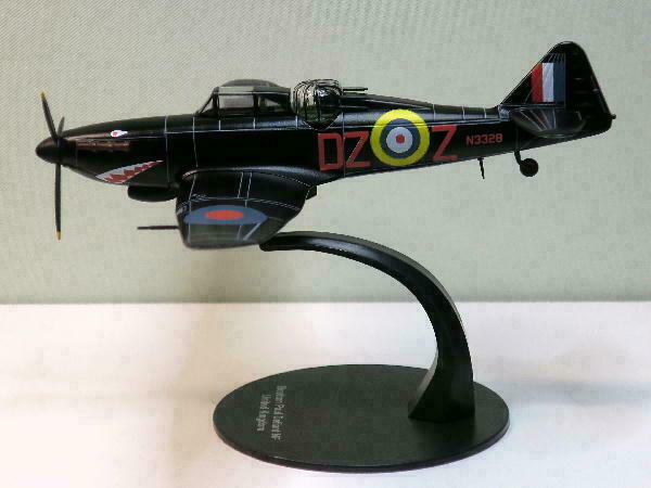 DeAgostini WW 2 Aircraft Collection 1//72 Boulton Paul Defiant #43