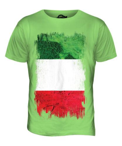 ITALY GRUNGE FLAG MENS T-SHIRT TEE TOP ITALIA FOOTBALL ITALIAN GIFT SHIRT