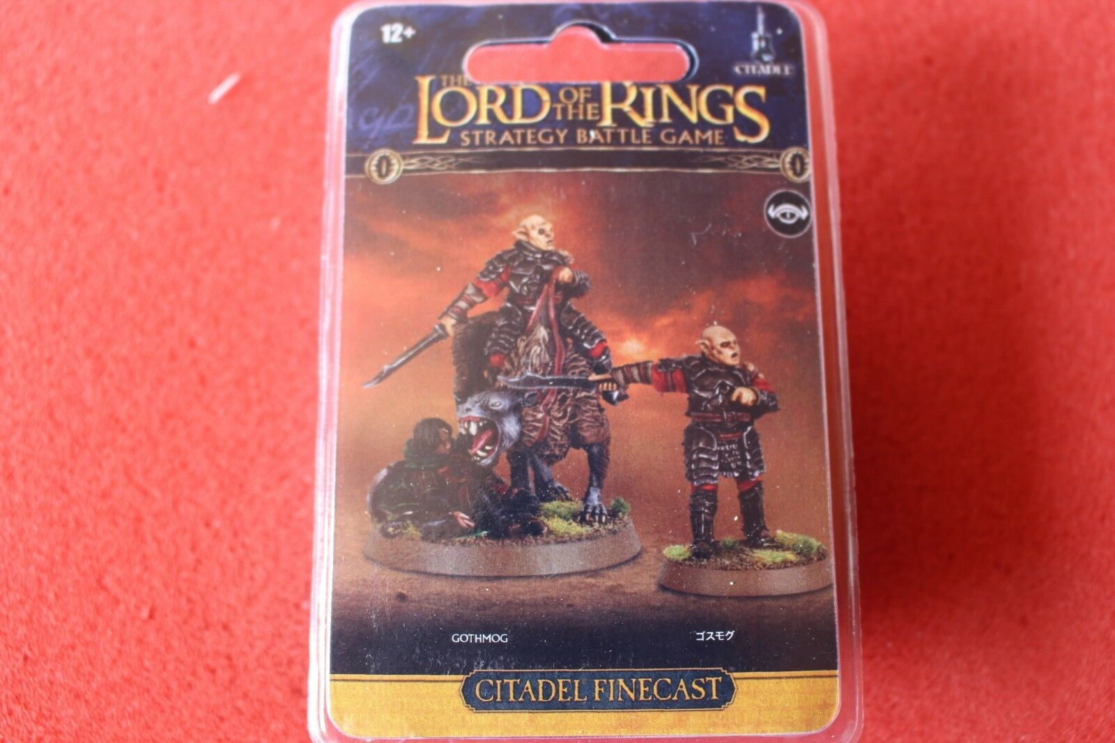 Games Workshop Lord of the Rings LoTR Gothmog Pelennor Foot Mounted GW New Resin
