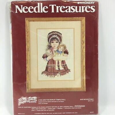 Needle Treasures Stitchery Kit HEART STRINGS PILLOW 00684 New Dan Morris