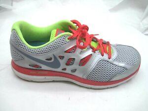 Nike size 9.5M Dual Fusion Lite silver running womens running shoes ... 91b60ecf76df