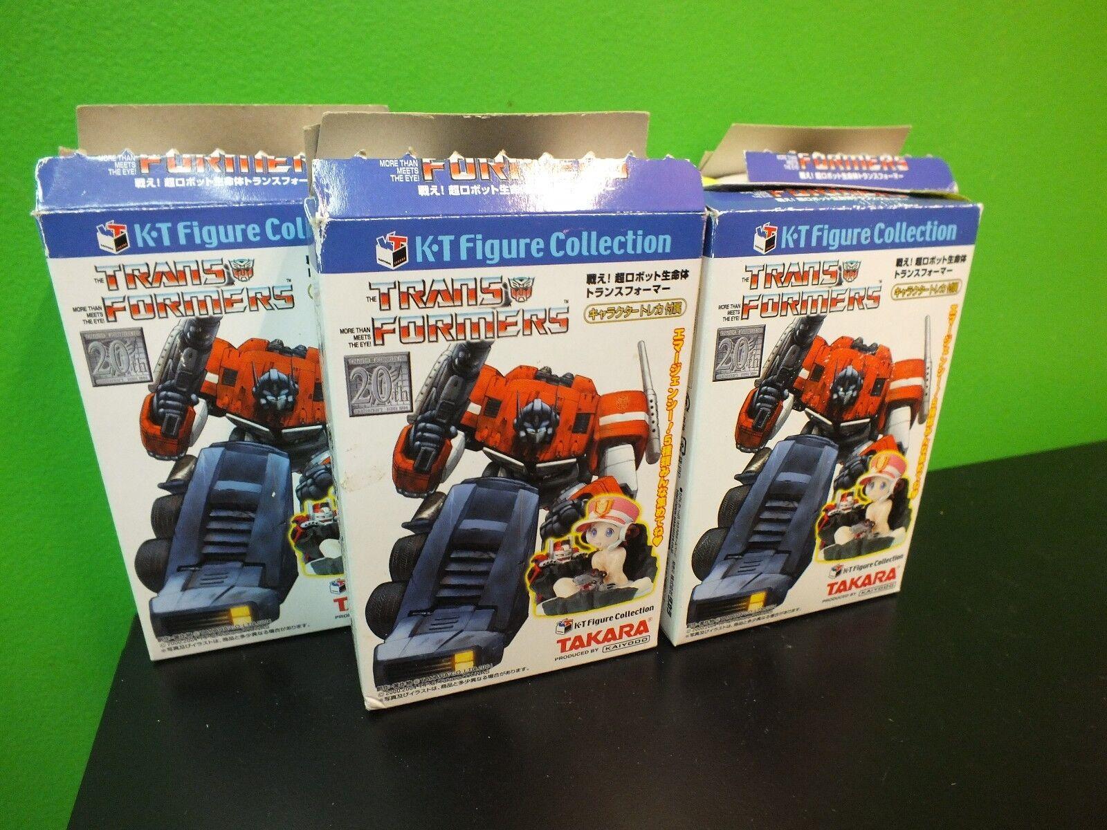 ofrecemos varias marcas famosas Transformers Kt Figura Conjunto Conjunto Conjunto de 5-AI, convoy, Devastator, frenesí, Rumble  Nuevo   moda