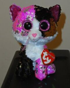 c66899b5186 Ty FLIPPABLES ~ MALIBU the Cat Changing Sequins 6
