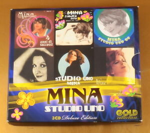 MINA-STUDIO-UNO-3GOLD-COLLECTION-OTTIMO-CD-AG-025