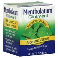 Mentholatum Ointment - 3 Oz