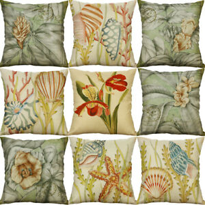 Vntage-Printing-Cotton-Linen-Pillow-Cases-Cushion-Cover-Sofa-Home-Decor
