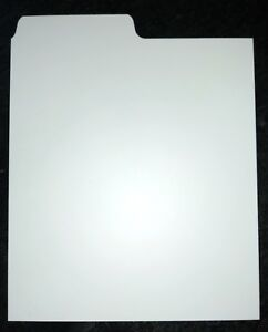 20-x-CD-Dividers-White-best-quality-Filotrax-seperators-tabs