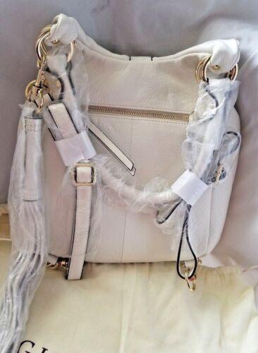 Nwt i l wit tas i Lederen ivoor converteerbare Winter rugzak G fBxFqnAww