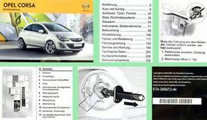 Opel-Corsa-D-Bedienungsanleitung-amp-Wartung-01-2013-auch-OPC-Betriebsanleitung