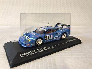 FERRARI-f40-1-43-regalo-modello-di-auto-24h-Le-Mans-MODELCAR-motorizzata-GIOCATTOLI-RAR