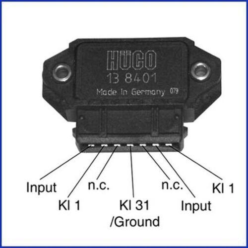 HITACHI Schaltgerät Zündanlage Hüco 138401 für FIAT PUNTO SLC HYUNDAI COUPE ZX