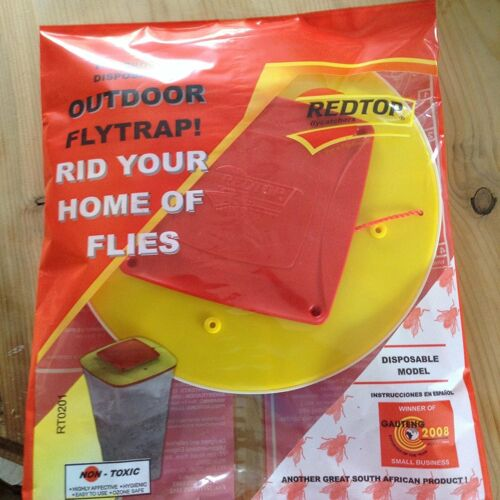 Genuine Red Top Fly Trap Pack of 2