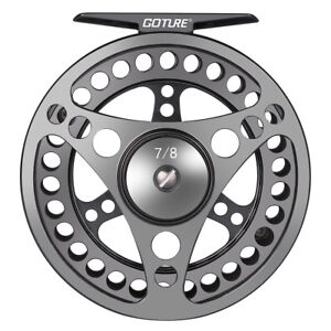 Goture-CNC-Machined-Fly-Fishing-Reel-3-4-5-6-7-8-9-10WT-Large-Arbor-Freshwater