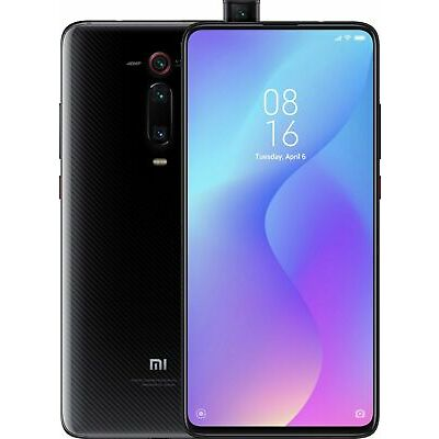 "Xiaomi Mi 9T 64GB 6GB Ram (FACTORY UNLOCKED) 6.39""48MP Carbon Black Glacier blue"