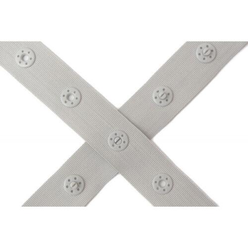♥ cinta de impresora gris botón distancia 2,5 cm ♥ farbenmix 18mm//1m