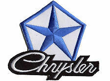 Mopar Chrysler Valiant Dodge  Hemi 6 pack embroidered cloth patch F040803