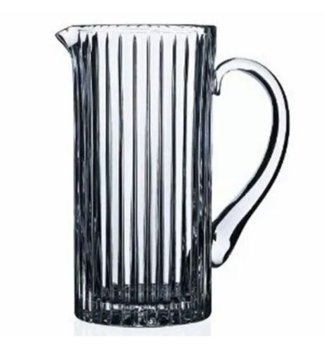 Lorren Home Trends RCR Timeless Pitcher New In Box Italian Crystal Free Shipping