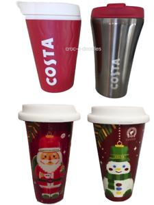 Image Is Loading Costa Coffee Ripple Travel Mug Tumbler Cup Amp