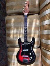 Vintage 1960s MIJ Silvertone Teisco 1405 electric guitar – Rare/clean/sunburst!