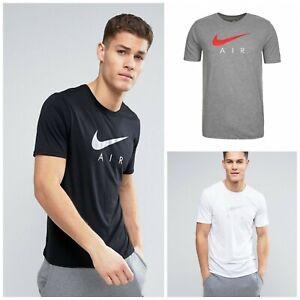 Nike Herren T Shirt Swoosh Core Basic Shirt Freizeit Tee 100
