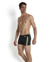 Speedo Monogram Aquashort. Speedo Mens Swimming Trunks.Speedo Male Swim Shorts.