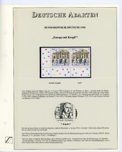 Bund Abart MiNr. 2028 PF II postfrisch MNH auf Sieger Katalogblatt (AA2