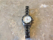 Fila Polaris Titianium Ladies Watch Stainless Steel Water Resist  100M New Batt