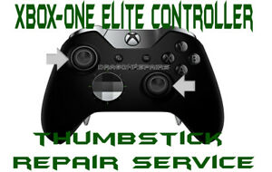 Details about Xbox One ELITE Controller Repair Service Broken Drifting  ThumbStick