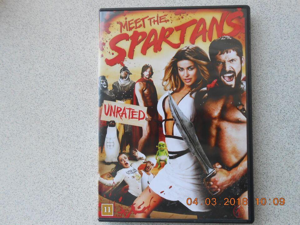 Meet the Spartans - unrated, instruktør Carmen Elektra as