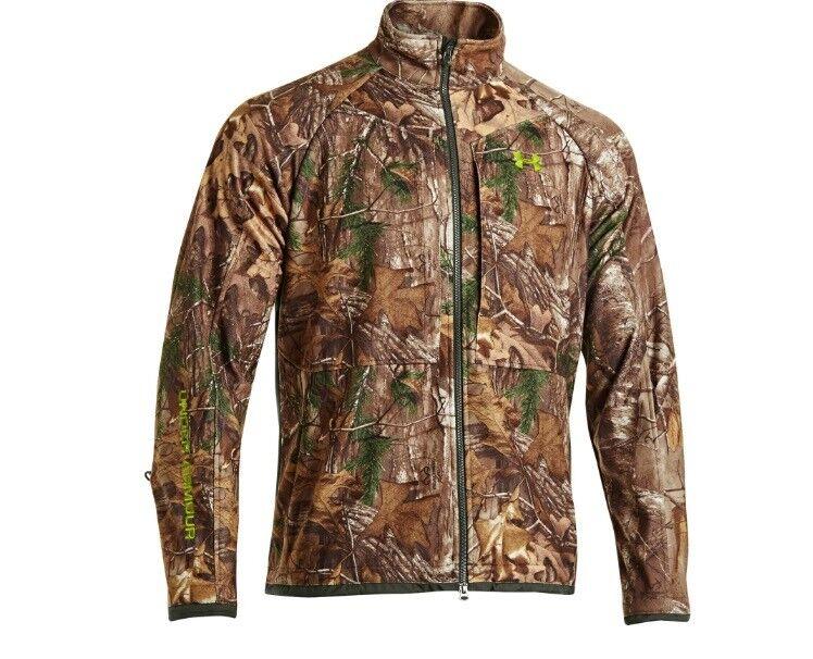 Armour Mens Rut páncélos ruha illat-szabályozás Camo Jacket és nadrágok Set-XL / W36