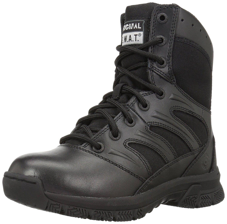 Original S.W.A.T. 155001 hombres Force 8  militar y táctica's bota, Negro