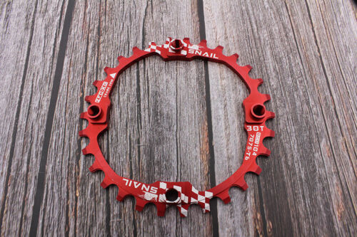 SNAIL 104BCD 30t Mountainbike schmal breit Charinring Fahrrad Kettenblatt