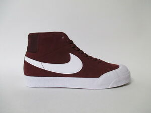 e310e43ed715 Nike SB Blazer Mid XT Dark Team Red White Sz 9 876872-619