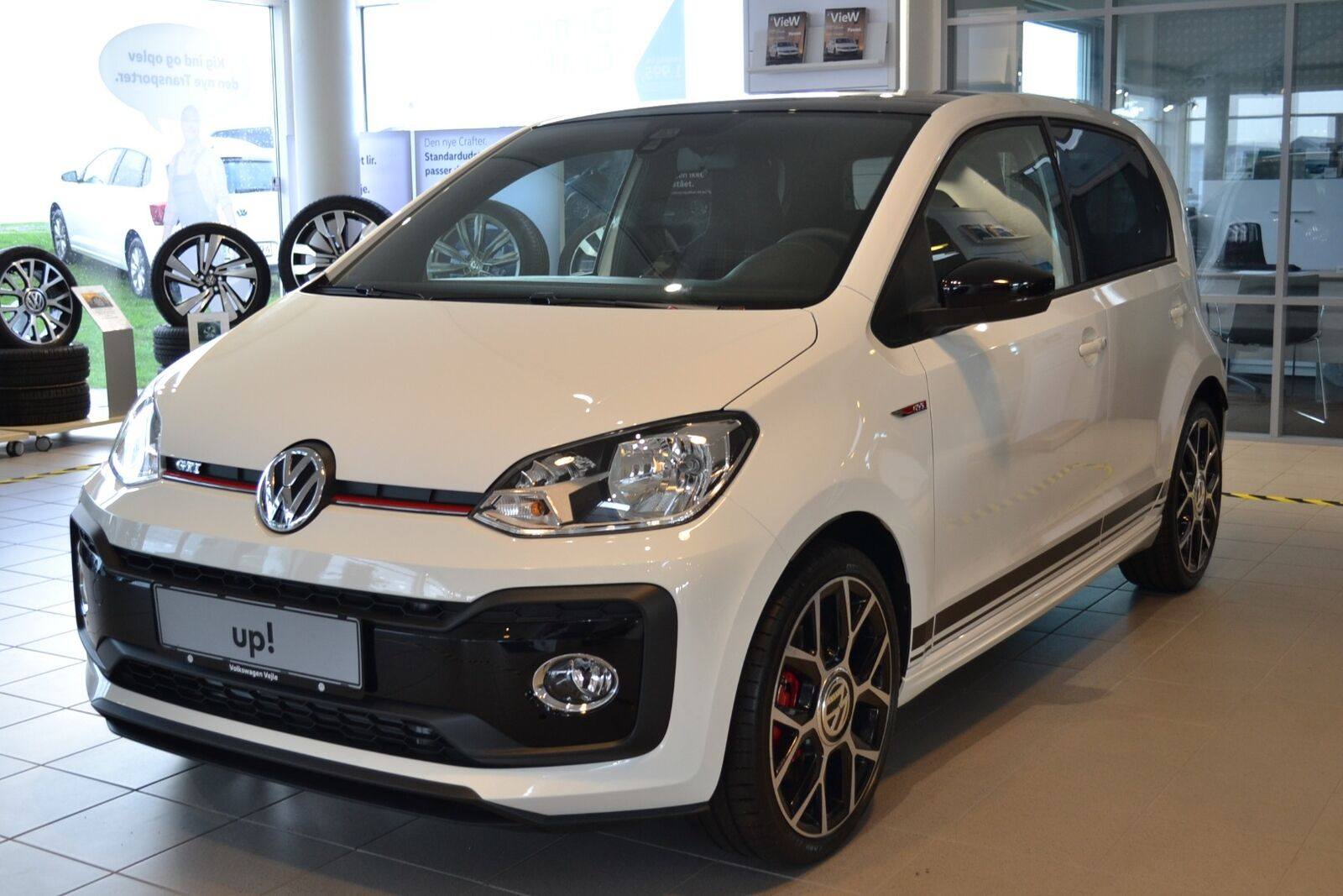 VW Up! 1,0 GTi 5d - 184.900 kr.