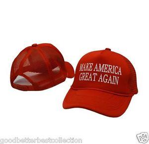 e7bce8e078f Make America Great Again Hat Donald Trump 2016 Republican Adjustable ...