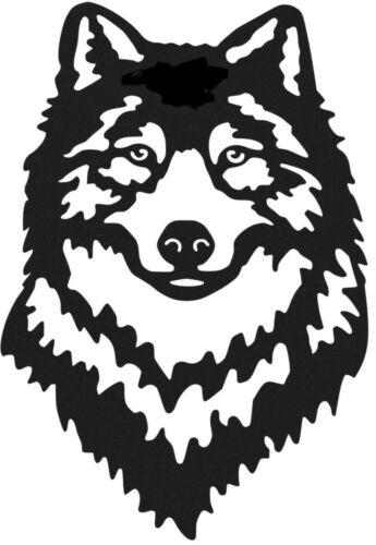"LARGE 22/"" wolf head tribal vinyl graphic decal car bonnet side sticker wall art"