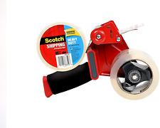 3m Scotch Tape Gun Dispenser With 2 Heavy Duty 3850 Shipping Packaging Rolls New