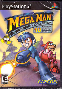 Mega-Man-Anniversary-Collection-PlayStation-2-PS2-10-Classic-Titles-Games-NEW