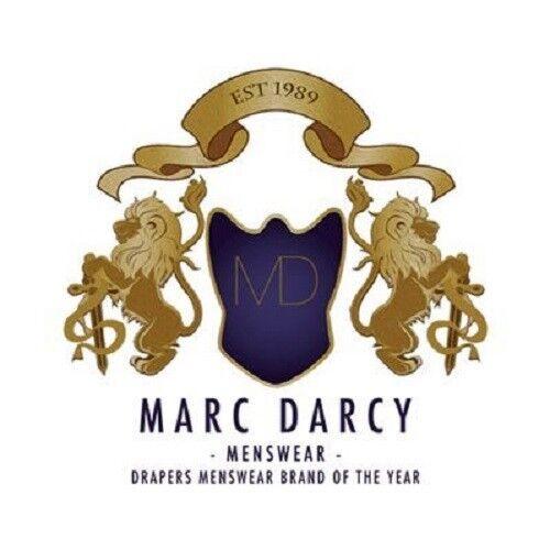 Mens Marc Darcy Tweed Check Trousers Kristian Jose Peaky Blinders Grey