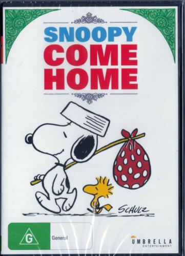 1 of 1 - SNOOPY COME HOME - NEW & SEALED REGION 4 DVD FREE LOCAL POST
