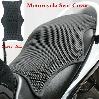 aheadad Cool Covers Motorcycle Seat Cover Motorbike Universal Cushion Protector Sunscreen Mats Mesh Seat Sun Pad Motorcycle Accessories Protector Mat
